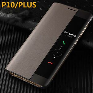 info for 84dcc a7e40 Details about Official Smart View genuine leather Flip Case Cover For  Huawei P20 Pro Mate10 P3