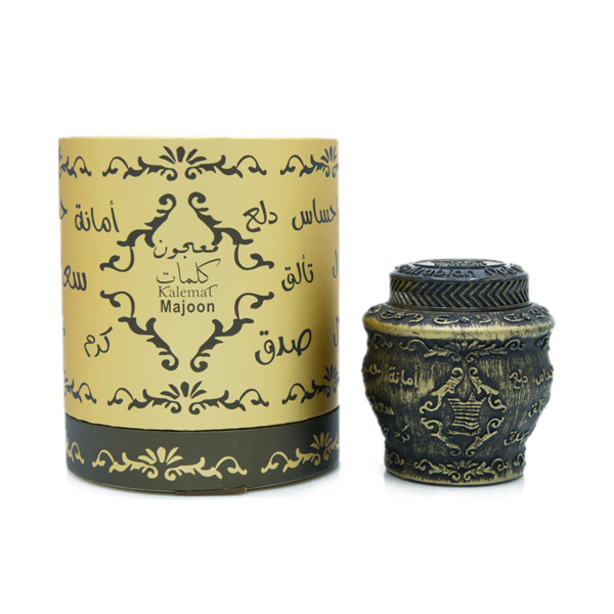 Maajoon Kalemat Encens par Arabian Oud 40 g-livraison gratuite Majon madjoun