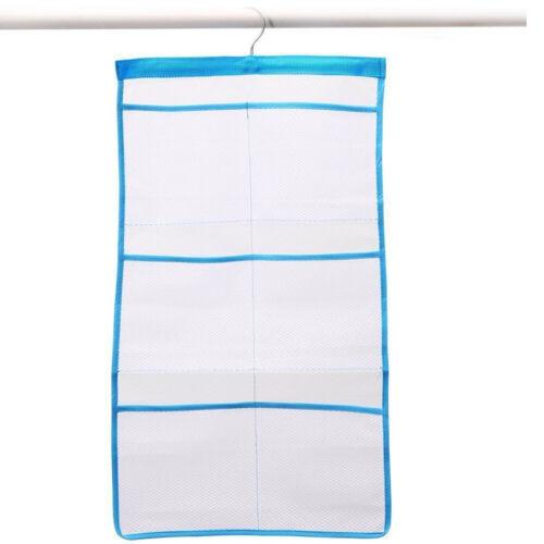 Bathroom Bathtub Shower Mesh Net Storage Bag Organizer Holder Hanging Bag NE8