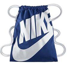 Nike HERITAGE GYMSACK Bag Deep Royal Blue/White BA5128-411