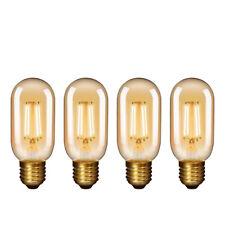 Lamparas Bombillas Edison de Filamento de LED E27 4.5W T45 Vintage Retro...