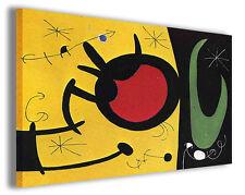 Quadri famosi Joan Mirò vol XXI Stampa su tela arredo moderno arte design