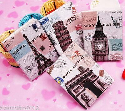European Diary Notebook Journal Paris London Pisa Big Ben Eiffel Tower Travel