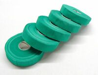 """Safety Tape Finger Wrap Adhesive Tape 5 Rolls 3/4"""" Wide Green Self Adhering Tape"""
