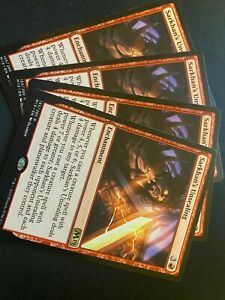 4x-Sarkhan-039-s-Unsealing-Core-Set-2019-MTG-NEVER-PLAYED-PACK-FRESH