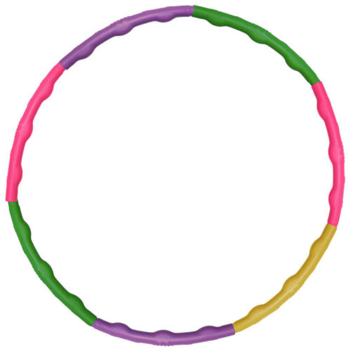 Bunter Hula Hoop Hula-Hoop Reifen 60 cm Kinder Fitnessreifen Gymnastik