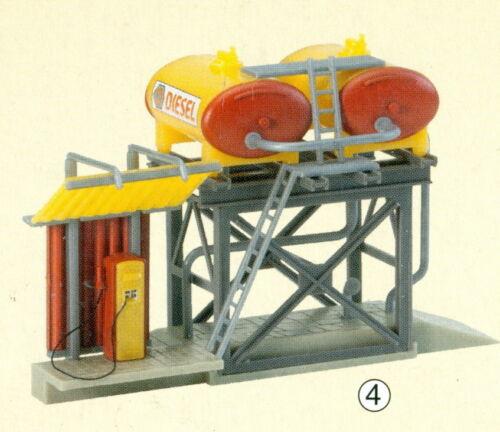 1 von 1 - Faller H0 120145 - Dieseltankstelle SHELL, Bausatz, Beutelverp., NEU