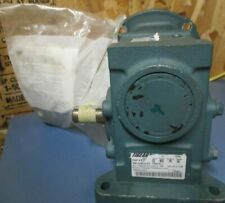 Dodge Tigear 2 Right Angle Worm Gear Speed Reducer 601 Ratio 29 Rpm 17q60r56