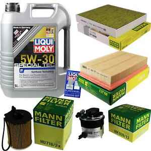 Inspection-Kit-Filter-Liqui-Moly-Oil-5L-5W-30-for-Ford-Focus-C-Max