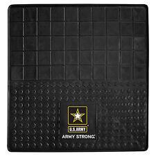 "US Army Strong Logo Car SUV RV Cargo Mat 31"" x 31"" Heavy Duty 3D Molded Vinyl"
