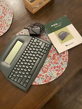 Neo By Alphasmart Inc Portable Word Processor Typewriter Tested And Working