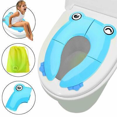 Faltbarer Toilettentrainer für Unterwegs Tragbar Reise WC Kinder Toilettensitz