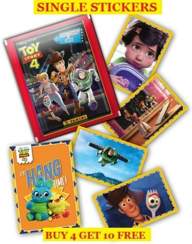 Buy 4 Get 10 Free Panini Toy Story 4 Single Stickers 2019