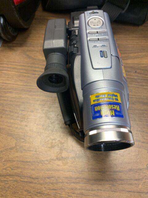 Jvc Gr Sxm265u Super Vhs Camcorder 700x Digital Zoom Tested Works Manual For Sale Online