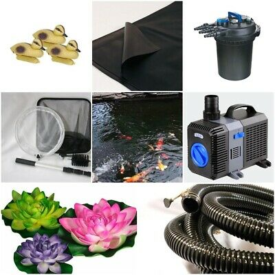 Ponds up to 1000 Gallons EasyPro ECF10U Pressurized Filter with Built-In UV for Crystal Clear Water