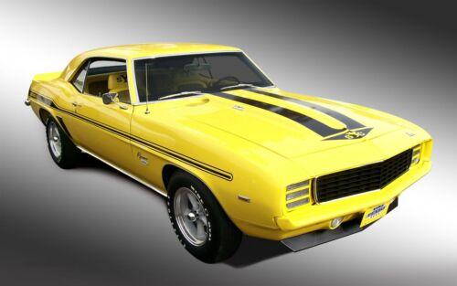 1969 Camaro Yenko pôster Amarelo 24 X 36 Polegadas pôster incrível!
