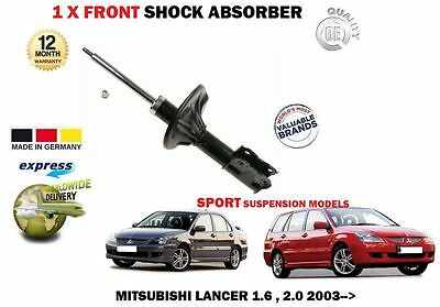 FOR MITSUBISHI LANCER 1.3 1.6 2.0 2003-/>on 1 X FRONT SHOCK ABSORBER SHOCKER