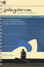Justinguitar.com Principiante's Songbook VOLUME 2 Corda Songbook SPIRALE Bound
