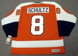 42f30ecd Image is loading DAVE-SCHULTZ-Philadelphia-Flyers-1974-CCM-Vintage-Away-