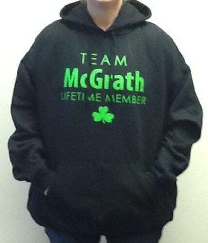 TEAM MCGRATH LIFETIME MEMBER IRISH HEAVYWEIGHT HOODED SWEATSHIRT WITH POCKETS