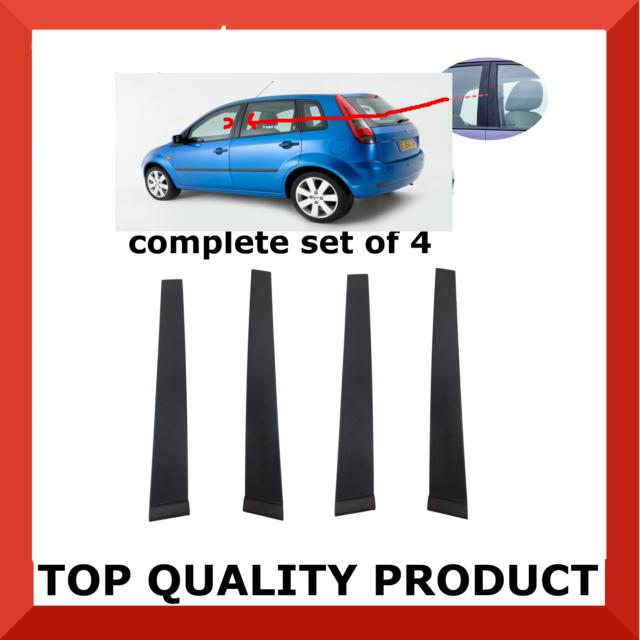 FORD FIESTA 02-08 Mk6  FULL CAR SEAT COVER SET BLUE EDGING