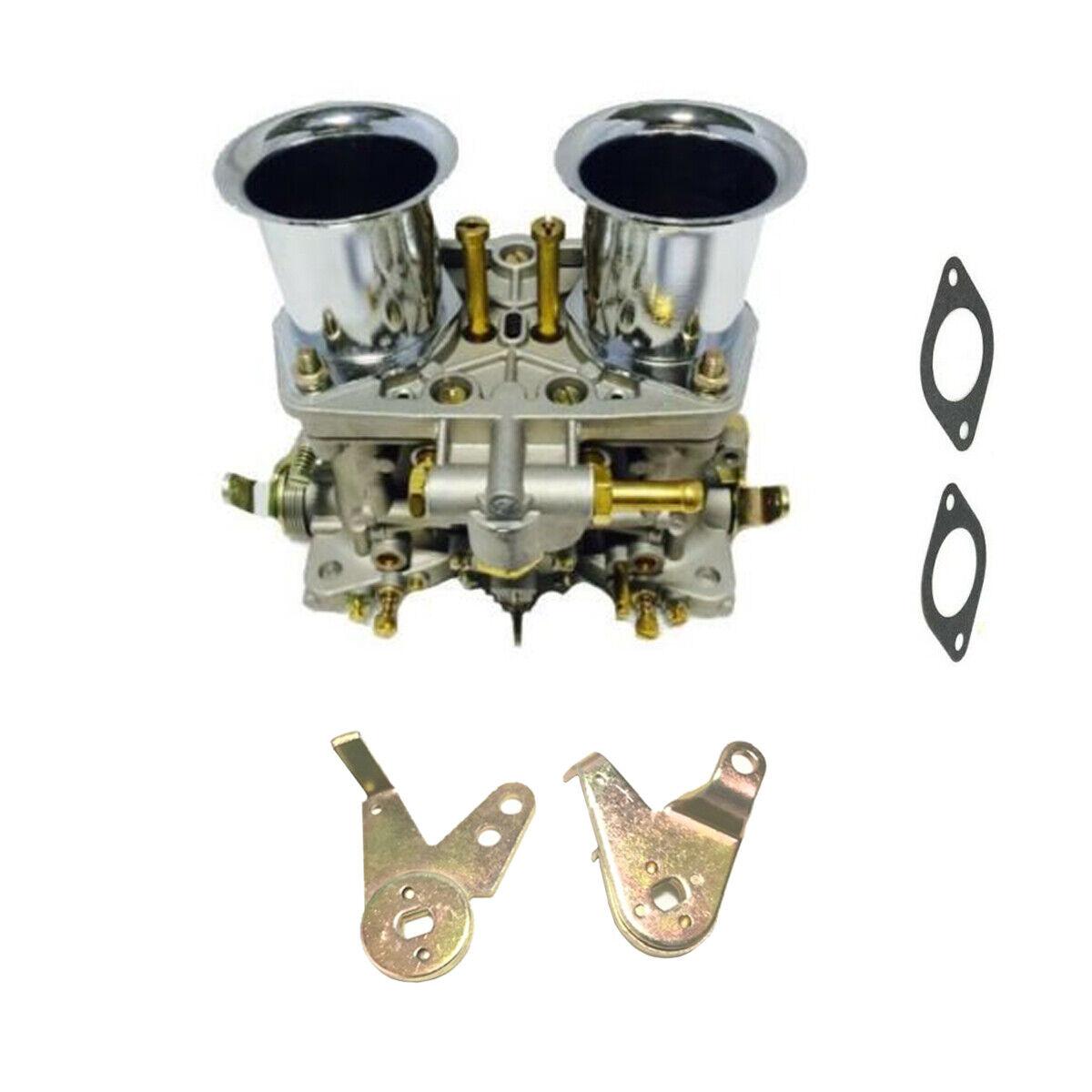 WFLNHB 2-Barrel Carburetor Carb Fit for Bug Volkswagen Beetle Fiat Fit for Weber 40 IDF