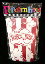 New Listinghobby Lobby 8 Popcorn Boxes Large Size 713 X 532 X 433 Food Safe Red White