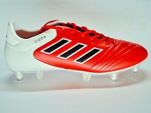 Details Zu Adidas Copa 17 2 Sg Leder Herrenschuhe Fussballschuhe Rot Weiss Schwarz Bb3554