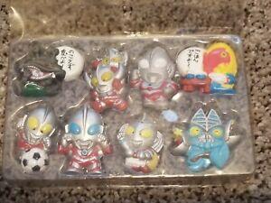 RARE 1995 Bandai Masked Rider Ultraman (unsure) New Magnet Set RARELY SEEN