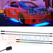 LEDGlow Blue LED Underbody Underglow Under Car Neon Light Kit w 4 Tubes 126 LEDs