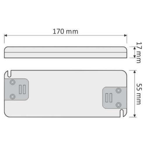 Superslim LED Transformator 30W 230V /> 12V Netzteil Netzadapter Adapter Driver