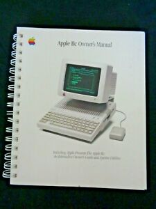 Apple-IIc-Owner-039-s-Manual-Guide-Interactive-Computer-System-Utilities-Monitor-039-86
