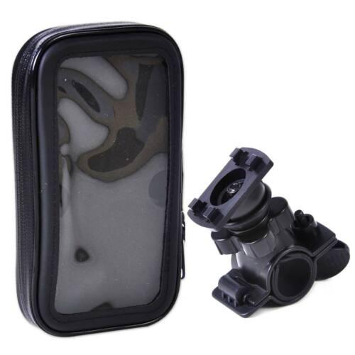 New Bicycle Phone Waterproof Handle Bar Case Bag Handlebar Mount Holder Cradle