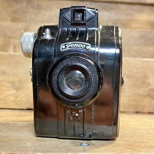 GENOS-ACHROMAT-127-FILM-MACCHINA-FOTOGRAFICA-MOLTO-RARO-buone-condizioni-funzionante-valigetta