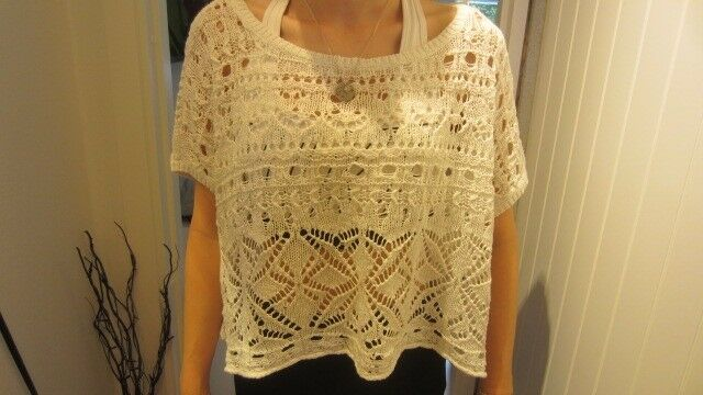 Bluse, STRIKBLUSE, ABERCROMBIE & FITCH