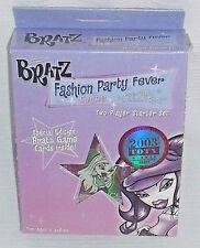 Bratz Fashion Party Fever Starter Set Card Game NEW Sealed 2004