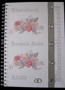 Gastebuch Diamantene Hochzeit Diamanthochzeit Geschenk 60