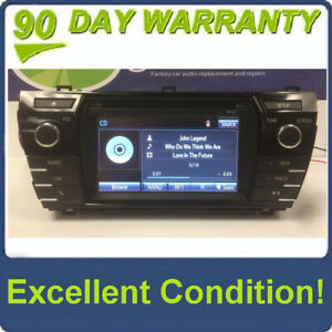 2014 - 2016 Toyota Corolla Bluetooth Touchscreen Display AM