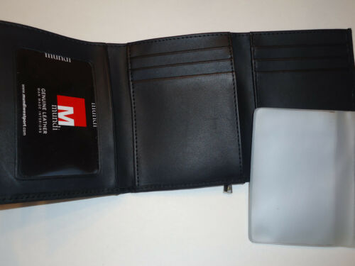 Black Mundi Genuine Leather Mini Wallet