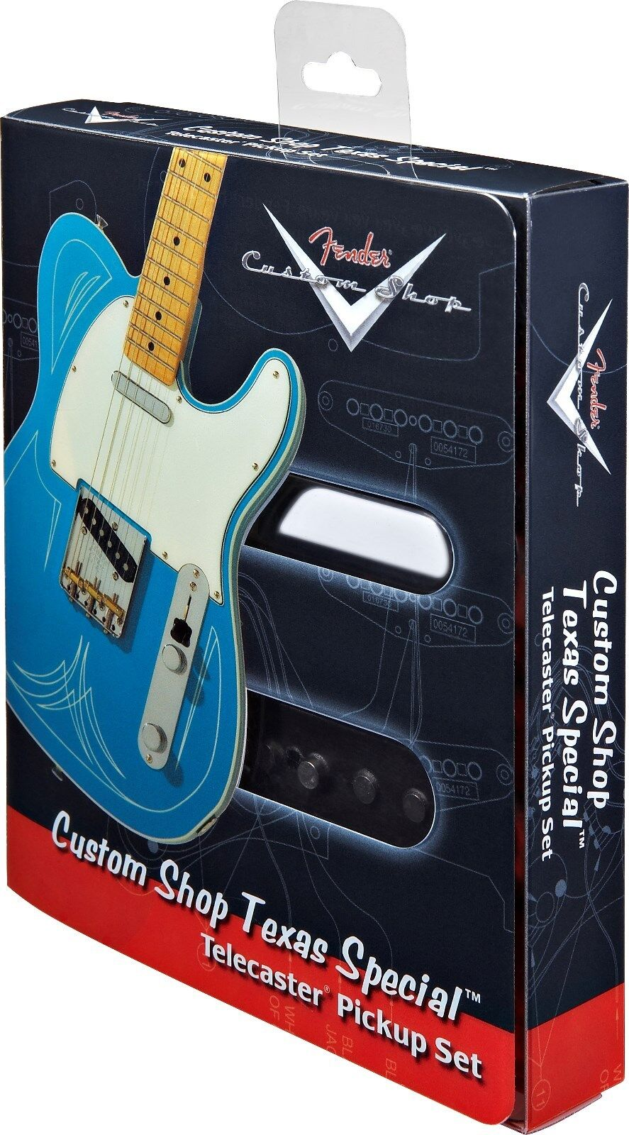 Fender 0992121000 Custom Shop Texas Special Telecaster Pickups Set Sale On Wiring Stock Photo
