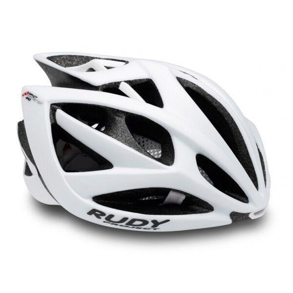 Helm mit dem Fahrrad RUDY Projekt AIRSTORM mod. weiß weiß weiß Matte HELMET 5c8d0d
