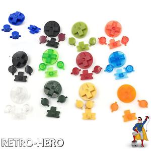 Gameboy-Classic-Knoepfe-GB-Buttons-Game-Boy-Tasten-pad-DMG-Pads-Taste-13-Farben