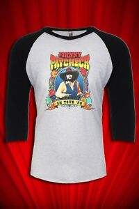 Johnny Paycheck 1978 Tour Jersey T Shirt Free Ship Usa Outlaw