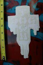 """DOGTOWN dog town Skate Sticker Green Cross 2 X 1.5/"""" skateboards helmets decal"""