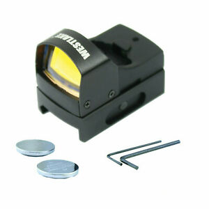 Mini-Holographic-Reflex-Micro-3-MOA-Red-Dot-Sight-with-Picatinny-Weaver-Mount