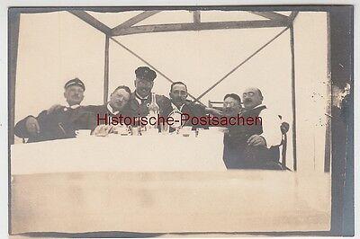 (f11036) Orig. Foto Karlstad, Picknick Nach Einer Bootsfahrt 1913 Supplement Die Vitalenergie Und NäHren Yin