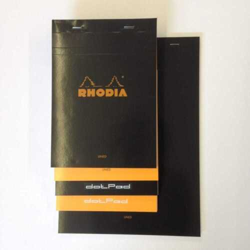 Claire Fontaine Rhodia Pads 80gsmSizes and Types Listed