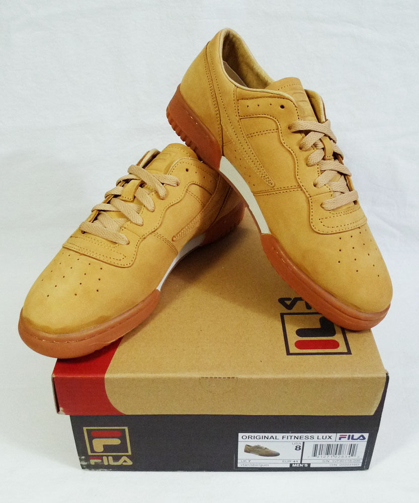 FILA Original Fitness Lux Tan Gum Sole Sneakers size 8 Price reduction The most popular shoes for men and women