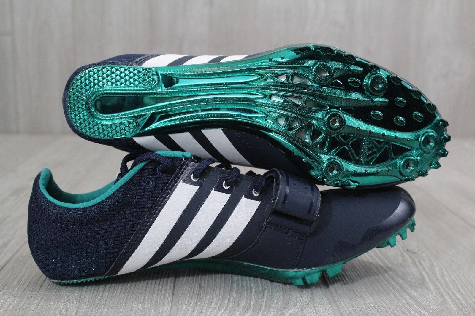 26 New New 26 Uomo Adidas Blue bianca Running Adizero Accelerator Spikes S78629 8.5-12.5 394b8f