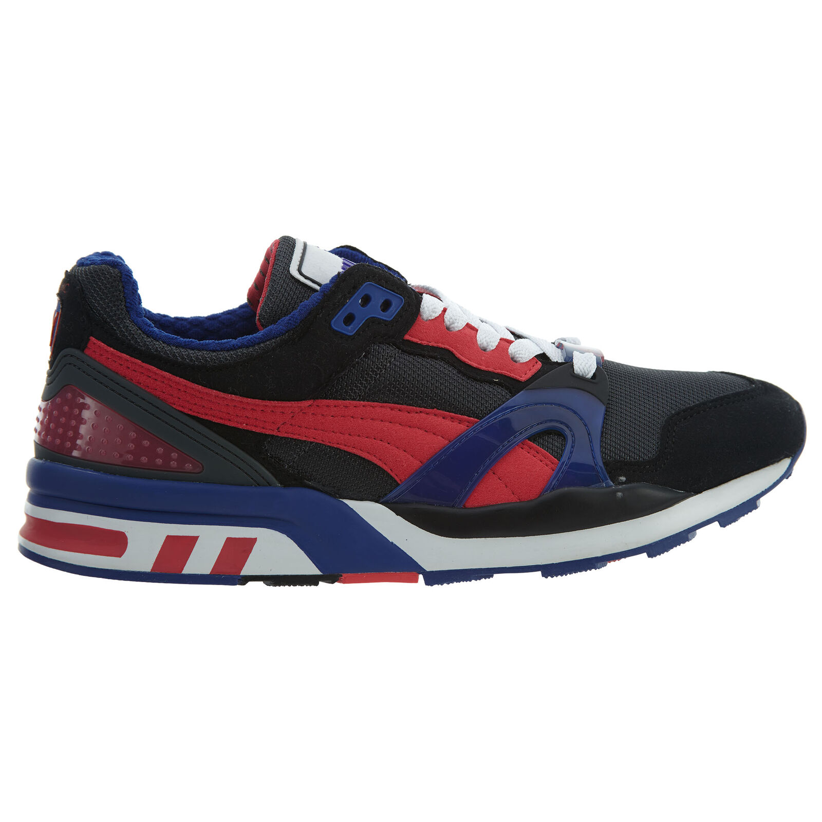 Puma Trinomic XT 2 Plus Mens 355868-15 Black Teaberry Red Running Shoes Size 11